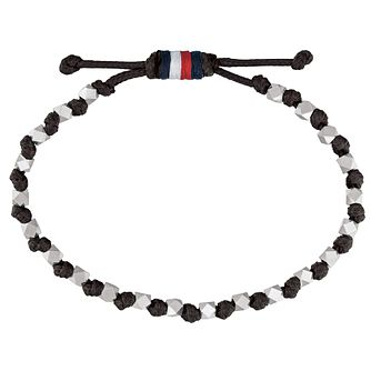 Tommy Hilfiger Silver Plated Beaded Bracelet - Product number 1083732