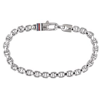 Tommy Hilfiger Stainless Steel Box Chain Bracelet - Product number 1083740