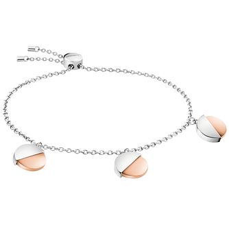 Calvin Klein Rose Gold Plated Charm Bracelet - Product number 1083813