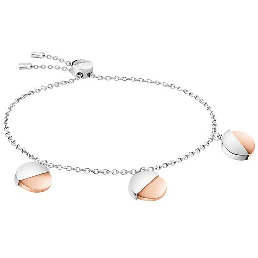 Calvin Klein Rose Gold Tone Charm Bracelet - Product number 1083813