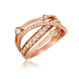 Le Vian 14ct Strawberry Gold 0.58ct Nude Diamond Ring - Product number 1088815