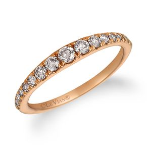 Le Vian 14ct Strawberry Gold Graduated Nude Diamond Ring - Product number 1090445
