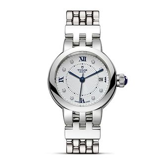 Tudor Clair de Rose Ladies' Stainless Steel Bracelet Watch - Product number 1090852