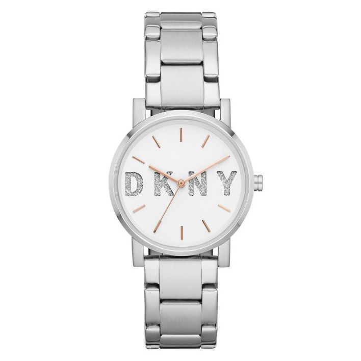 DKNY Soho Ladies' Silver Tone Bracelet Watch - Product number 1092316