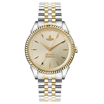 Vivienne Westwood Seymour Ladies' Two Tone Bracelet Watch - Product number 1094238