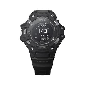 Casio G-Shock Heart Rate Monitor Men's Black Resin Watch - Product number 1094327