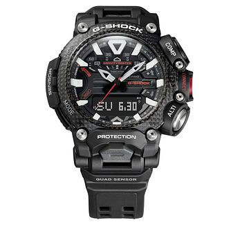Casio G-Shock GRAVITYMASTER Men's Black Resin Strap Watch - Product number 1094416