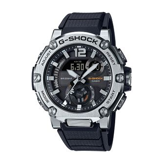 Casio G-Steel Men's Black Resin Strap Watch - Product number 1094459