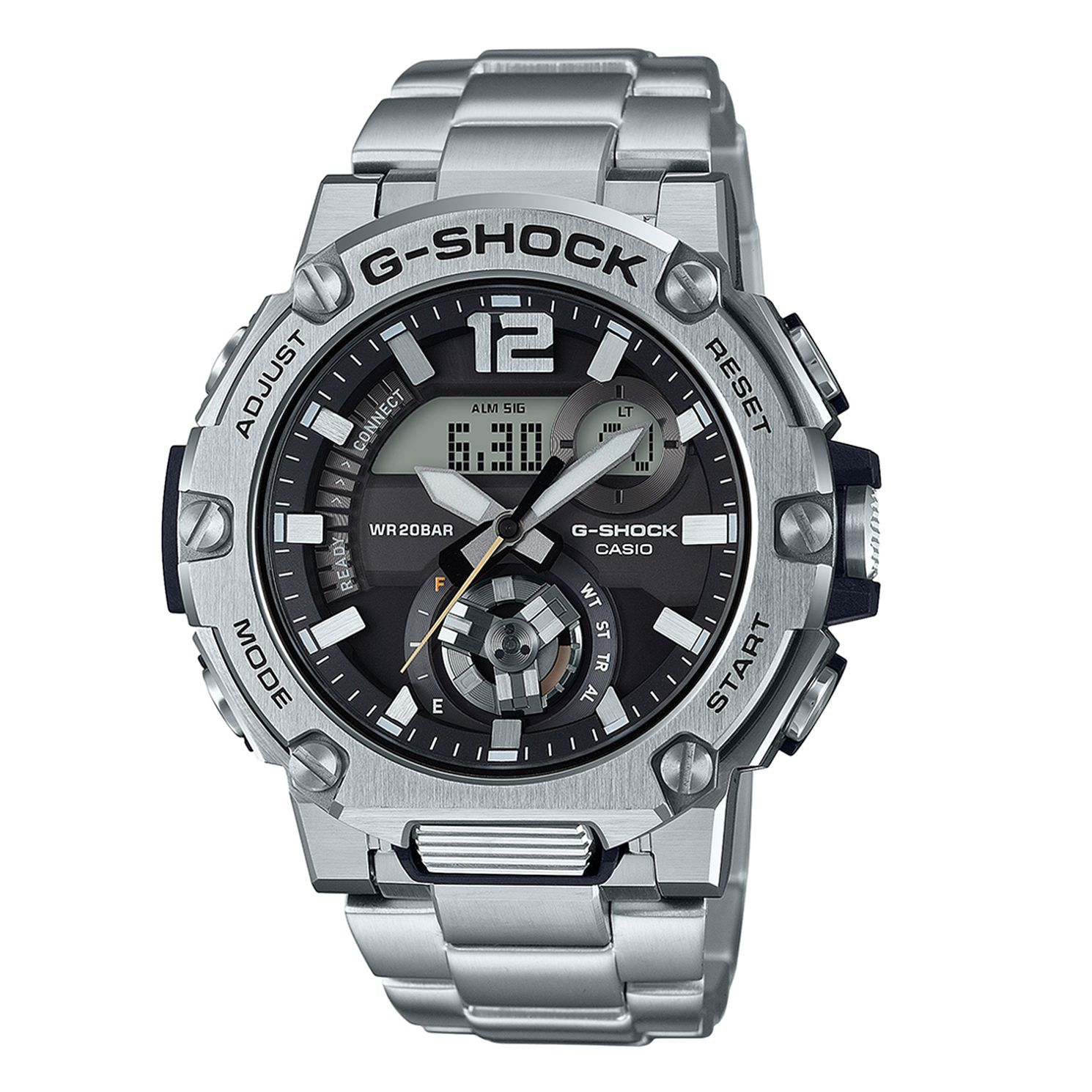 Casio G-Steel GST-B300S-1AER Black Resin Strap Watch - Product number 1094467