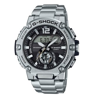 Casio G-Steel Men's Stainless Steel Bracelet Watch - Product number 1094467