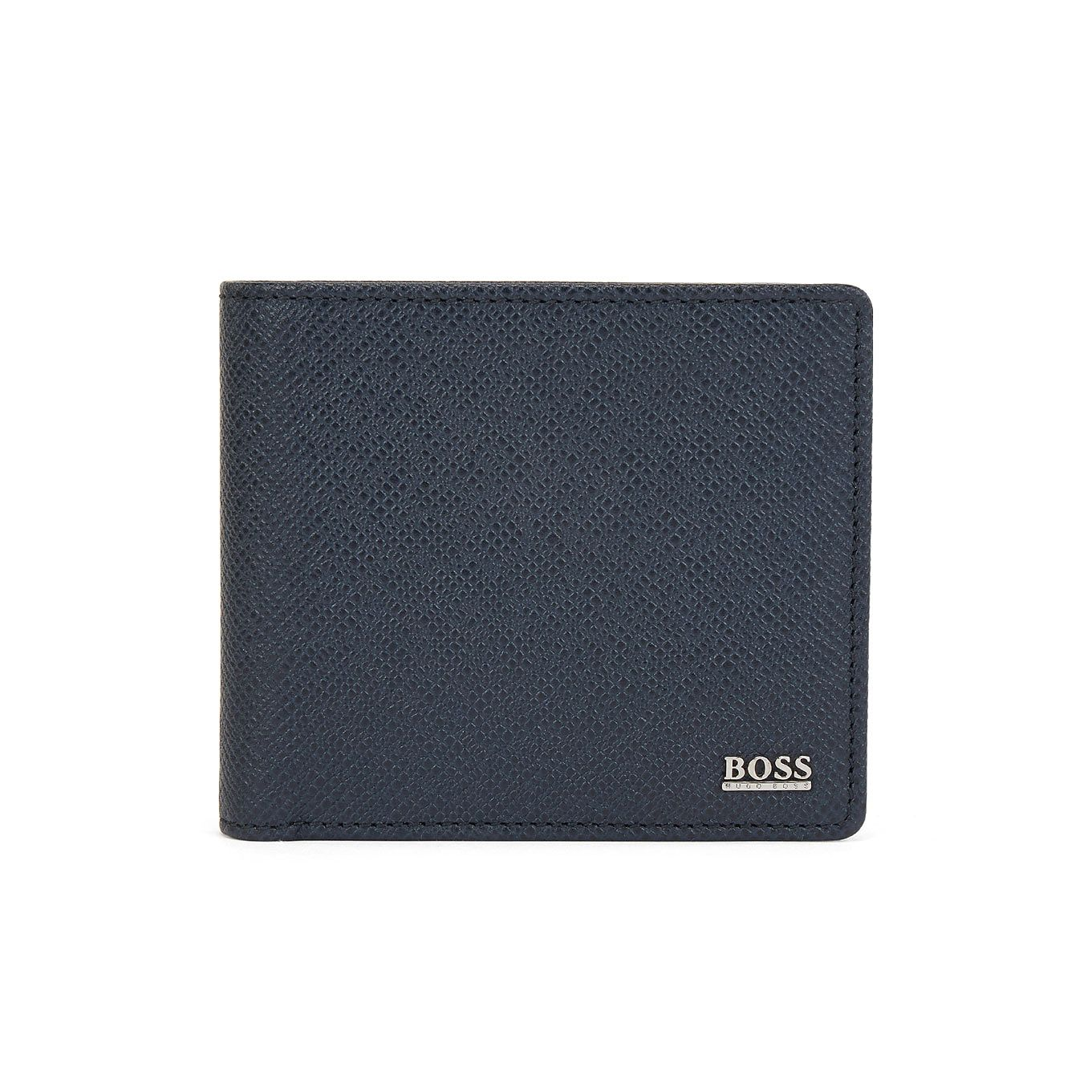 BOSS Signature Men's Grey Leather Wallet - Product number 1096753