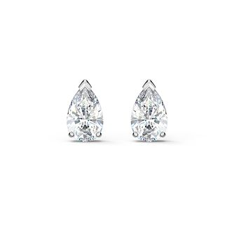 Swarovski Attract Pear Crystal Rhodium Plated Stud Earrings - Product number 1096842