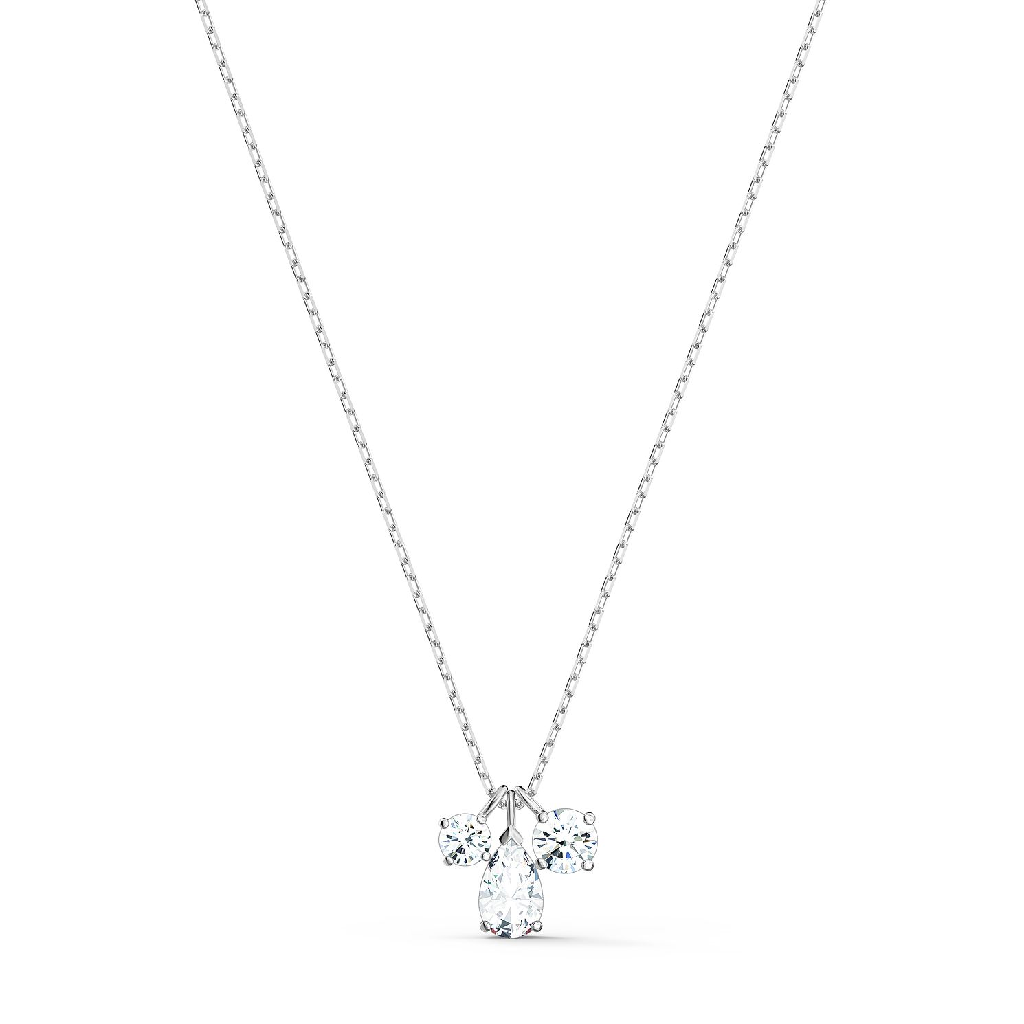 Swarovski Attract Cluster Crystal Rhodium Plated Pendant - Product number 1096893