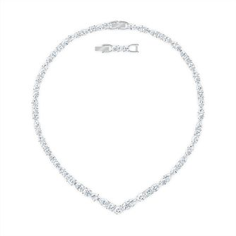 Swarovski Tennis Deluxe Crystal Rhodium Plated Nacklace - Product number 1096931