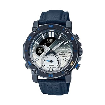Casio Edifice Scuderia AlphaTauri Blue Resin Strap Watch - Product number 1096966