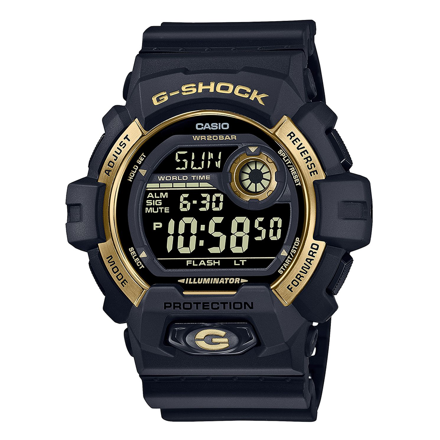 Casio G-Shock Black Resin Strap Watch - Product number 1097016