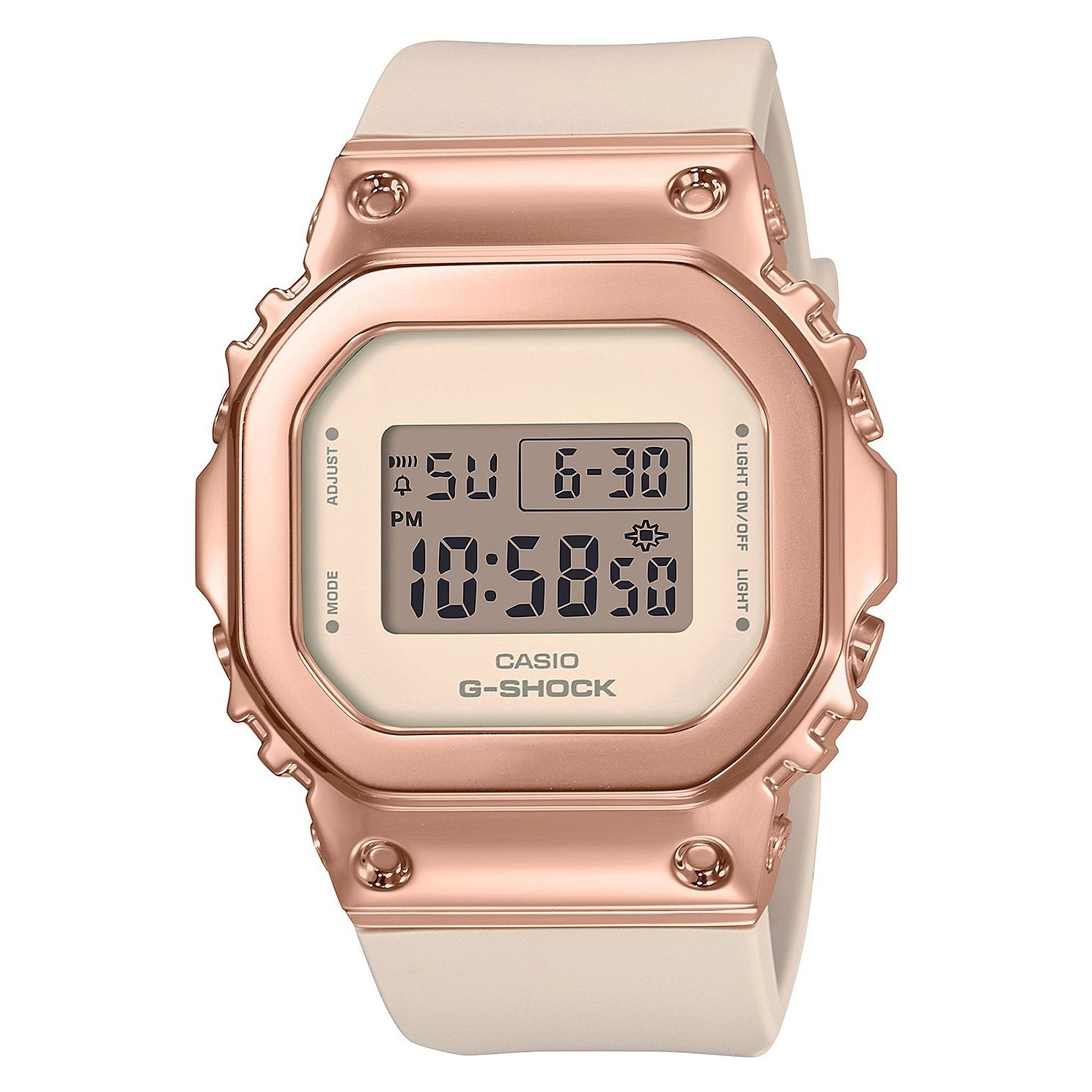 Casio G-Shock Ladies' Pink Resin Strap Watch - Product number 1097083