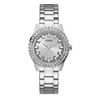 Guess Sparkler Ladies' Stainless Steel Bracelet Watch - Product number 1097202