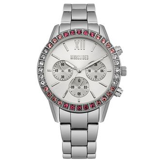 Missguided Ladies' Silver Tone Bracelet Watch - Product number 1098195