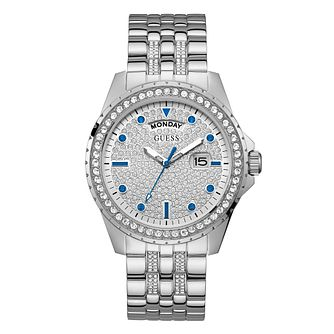 Guess Comet Men's Stainless Steel Bracelet Watch - Product number 1098349