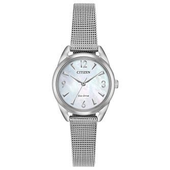 Citizen Ltr Ladies' Eco-Drive Stainless Steel Bracelet Watch - Product number 1098454