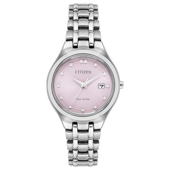 Citizen Silhouette Ladies' Eco-Drive Bracelet Watch - Product number 1098497