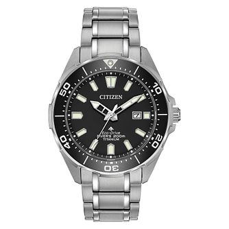 Citizen Promaster Men's Titanium Eco-Drive Bracelet Watch - Product number 1098659
