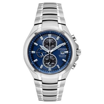 Citizen Eco-Drive Men's Titanium Bracelet Watch - Product number 1098667