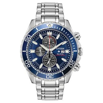 Citizen Eco-Drive Promaster Stainless Steel Bracelet Watch - Product number 1098675