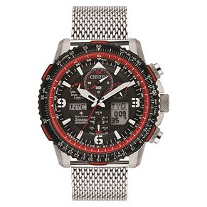 Citizen Promaster Red Arrows Men's Chronograph Strap Watch - Product number 1098691