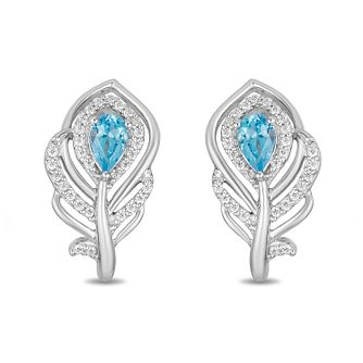 Enchanted Disney Fine Jewelry Diamond Jasmine Stud Earrings - Product number 1101315