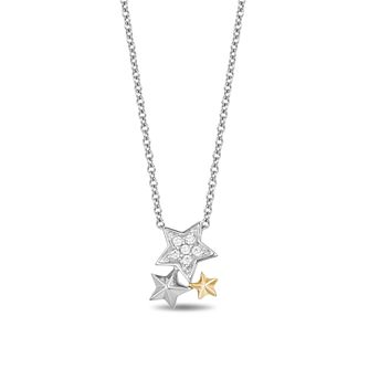 Enchanted Disney Fine Jewelry Diamond Tinkerbell Pendant - Product number 1101382
