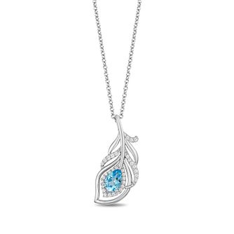 Enchanted Disney Fine Jewelry Diamond Jasmine Pendant - Product number 1101404