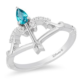 Enchanted Disney Fine Jewelry Diamond Merida Arrow Ring - Product number 1101714