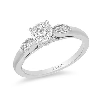Enchanted Disney Fine Jewelry Diamond Jasmine Ring - Product number 1101854