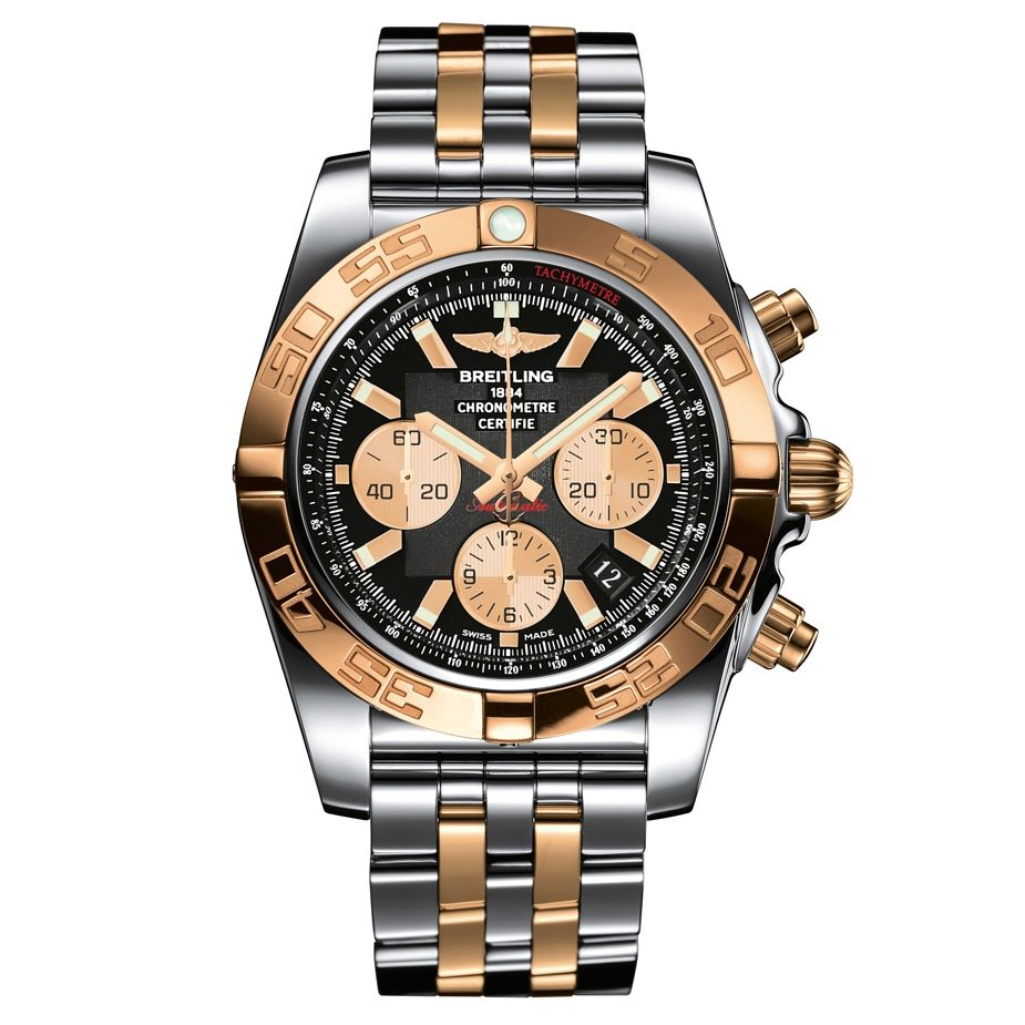 Breitling Chronomat 44 Men's Two Colour Bracelet Watch - Product number 1107690