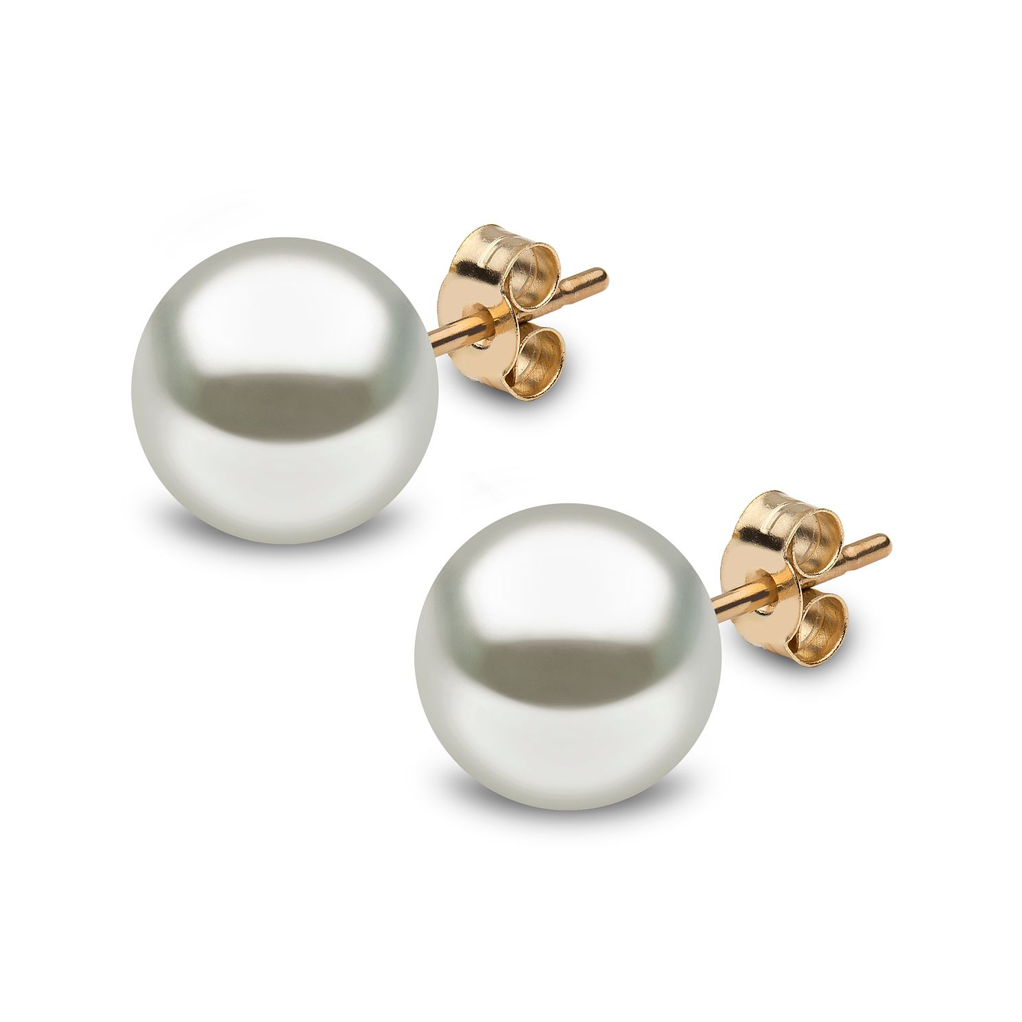 Yoko London 18ct Yellow Gold South Sea Stud Earrings - Product number 1113607
