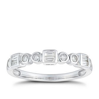9ct White Gold 1/4ct Diamond Eternity Ring - Product number 1117319