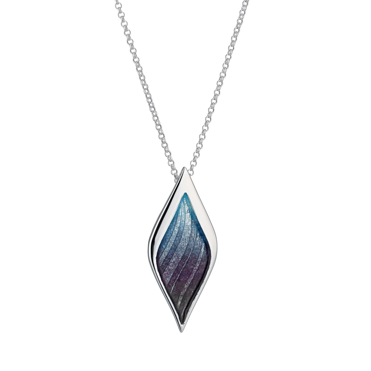 Ortak Sterling Silver Hot Glass Pendant - Product number 1117734