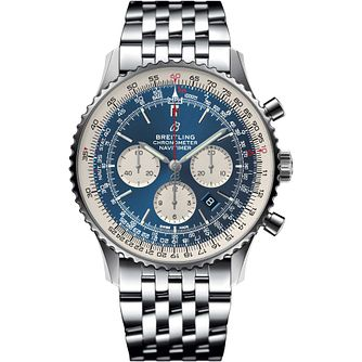 Breitling Navitimer 01 Men's Stainless Steel Bracelet Watch - Product number 1121197