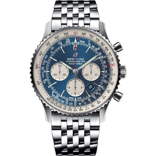 Breitling Navitimer 46 Men's Stainless Steel Bracelet Watch - Product number 1121197