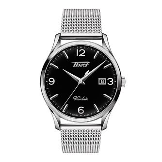 Tissot Visodate Men's Stainless Steel Mesh Bracelet Watch - Product number 1125214