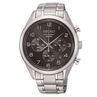 Seiko Dress Smart Chronograph Stainless Steel Bracelet Watch - Product number 1126032