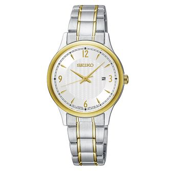 Seiko Classic Dress Ladies' Two Tone Bracelet Watch - Product number 1126040