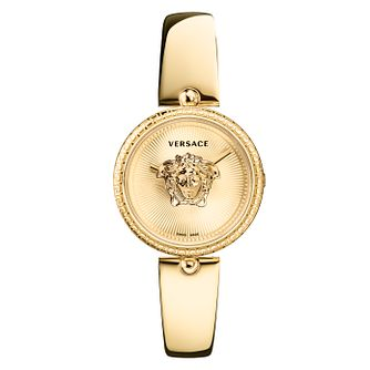 Versace Palazzo Ladies' Yellow Gold Plated Bracelet Watch - Product number 1127608