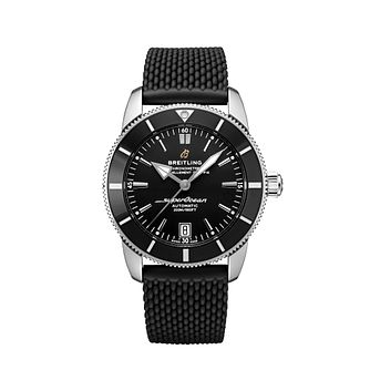 Breitling Men's Superocean 42 Black Strap Watch - Product number 1128701
