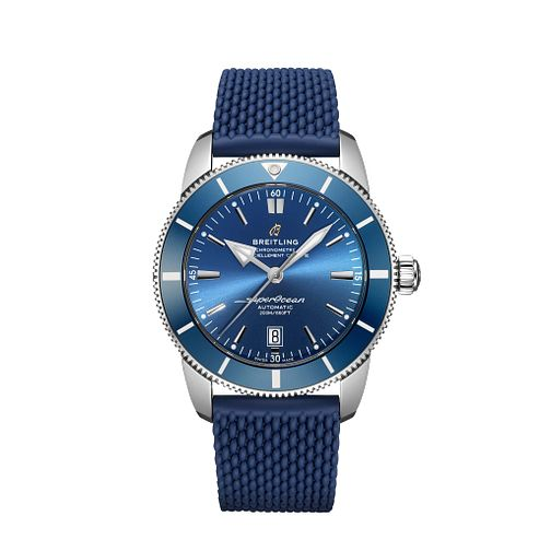 Breitling Men's Superocean Heritage 46 Blue Strap Watch - Product number 1128728