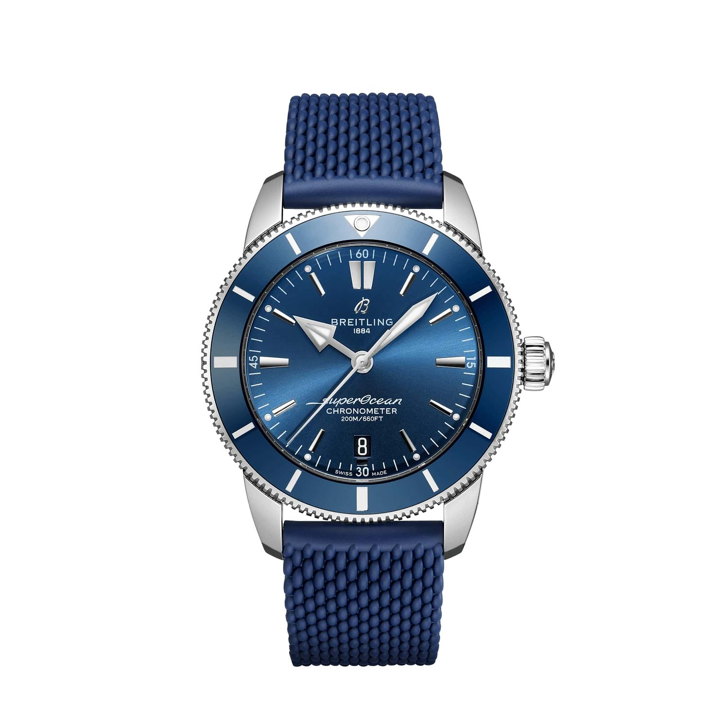 Breitling Superocean Heritage Ii Men's Blue Strap Watch - Product number 1128736