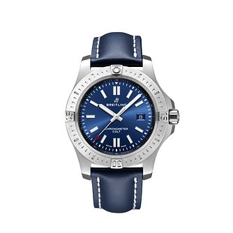 Breitling Men's Colt 44 Blue Strap Watch - Product number 1128795