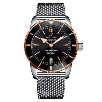 Breitling Men's Superocean 42 Black Bracelet Watch - Product number 1128965